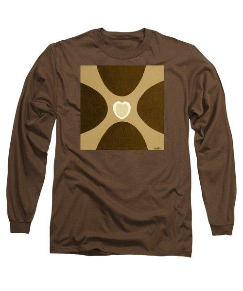 Golden Heart 3 Long Sleeve T-Shirt
