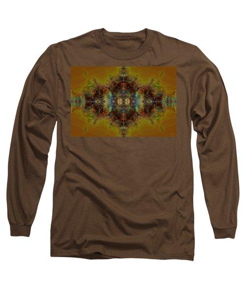 Golden Tapestry Long Sleeve T-Shirt