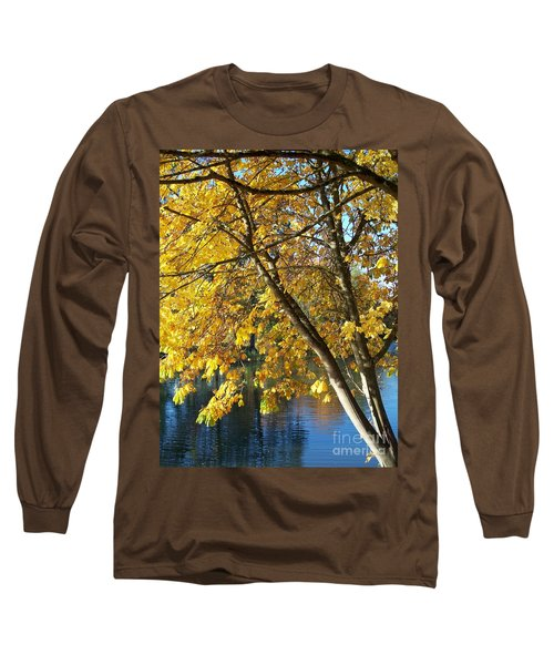 Long Sleeve T-Shirt featuring the photograph Golden Zen by Chalet Roome-Rigdon
