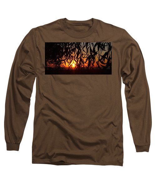 Good Morning Lake Michigan Long Sleeve T-Shirt