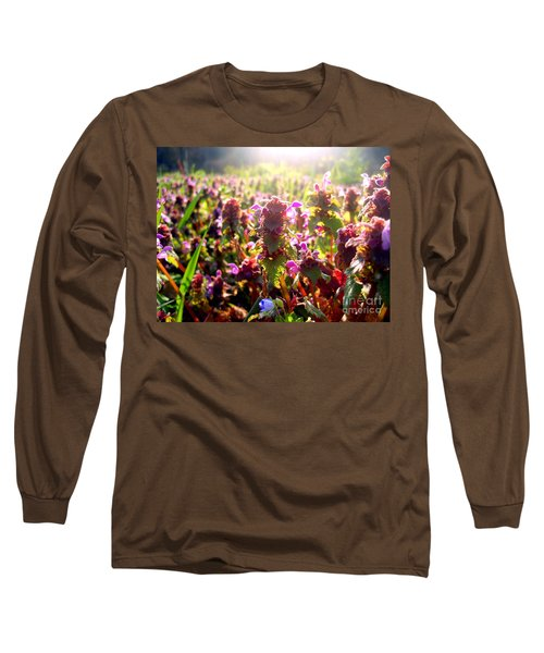 Long Sleeve T-Shirt featuring the photograph Good Morning by Nina Ficur Feenan