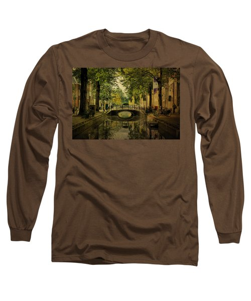 Gouda In Vintage Look Long Sleeve T-Shirt