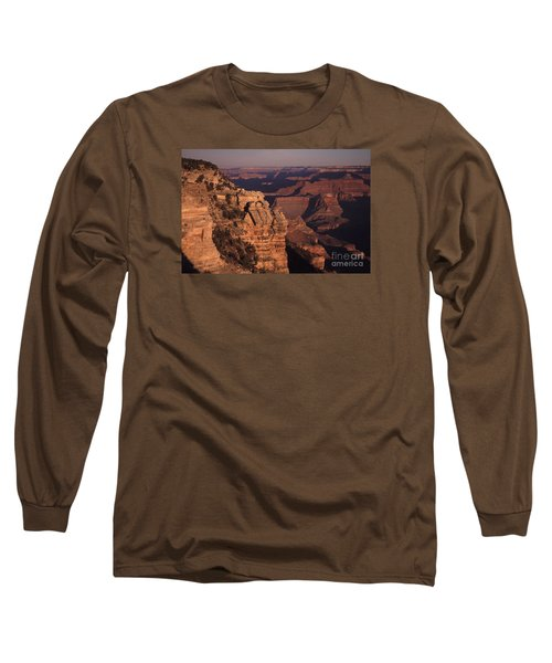 Long Sleeve T-Shirt featuring the photograph Grand Canyon Sunrise by Liz Leyden