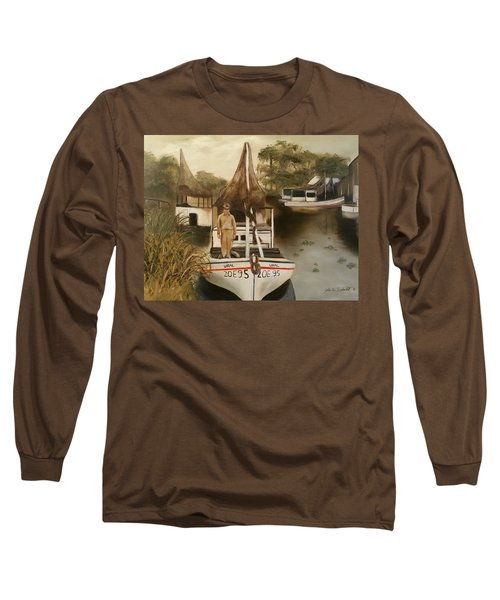Grand Paw Domangue Long Sleeve T-Shirt