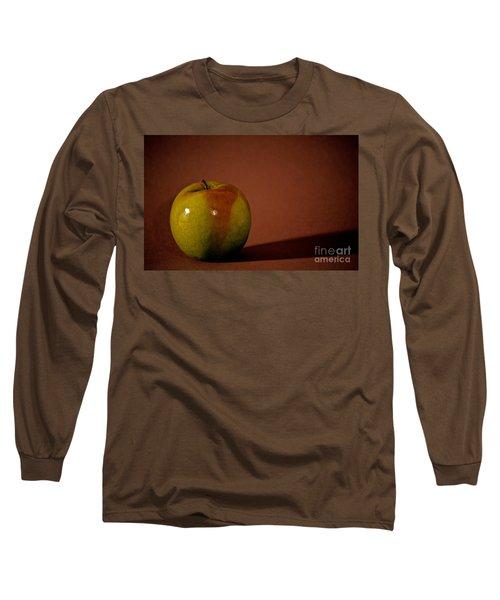 Granny Smith Long Sleeve T-Shirt by Sharon Elliott