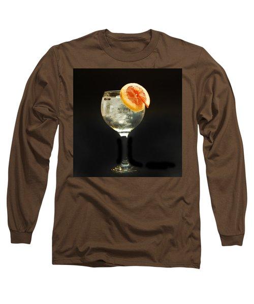 Grapefruit Gin Tonic Long Sleeve T-Shirt