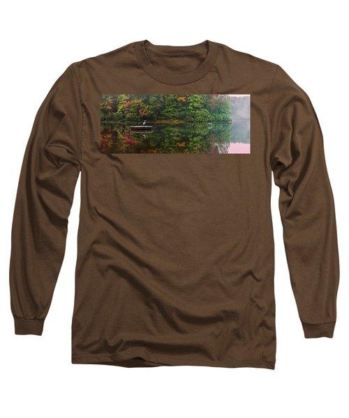 Great Herons Long Sleeve T-Shirt