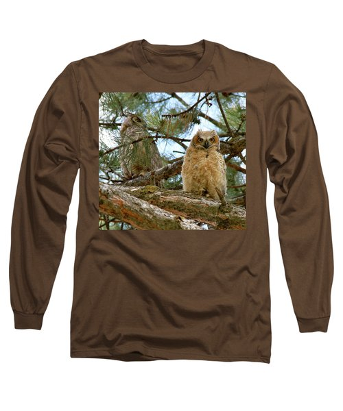 Great Horned Owls Long Sleeve T-Shirt