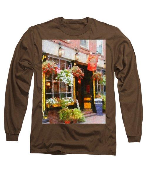 Green Dragon Tavern Long Sleeve T-Shirt