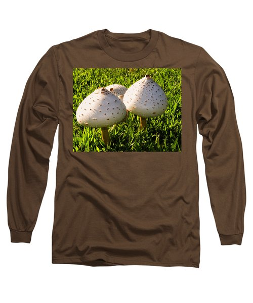 Green Spored Lepiota Long Sleeve T-Shirt