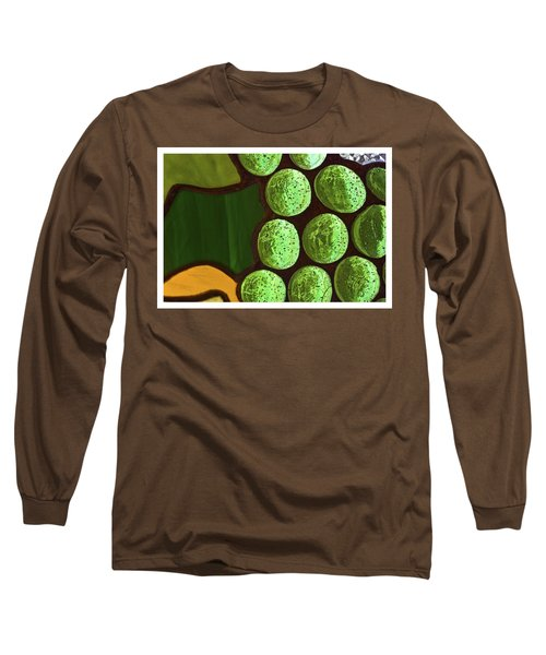 Green Yellow Long Sleeve T-Shirt