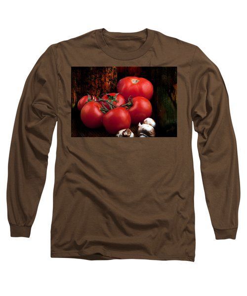 Group Of Vegetables Long Sleeve T-Shirt