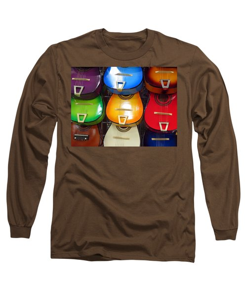 Guitaras San Antonio  Long Sleeve T-Shirt