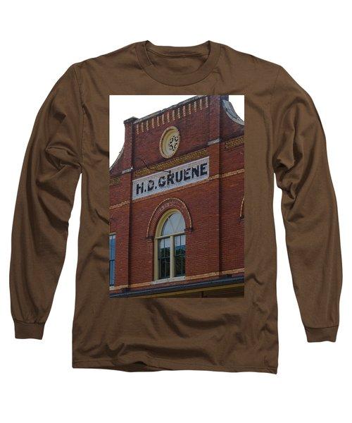 H D Gruene Long Sleeve T-Shirt