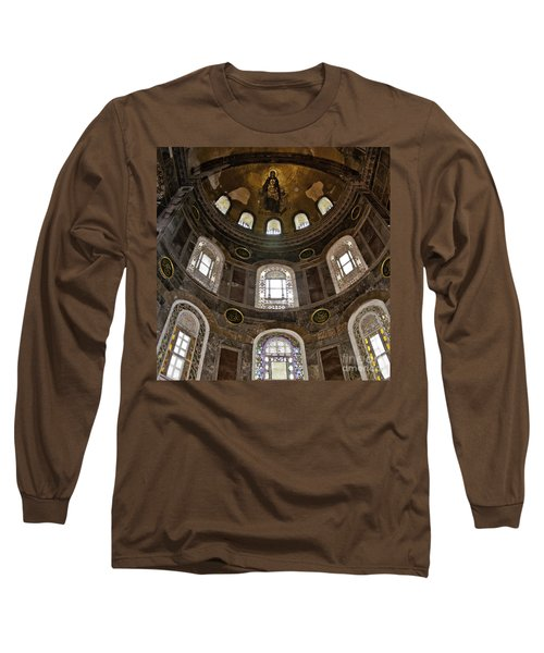 Hagia Sofia Interior 06 Long Sleeve T-Shirt by Antony McAulay
