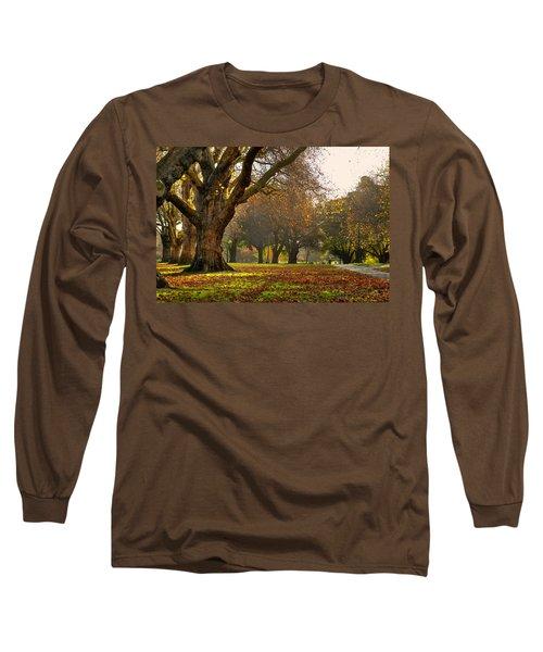 Hagley In Autumn Long Sleeve T-Shirt