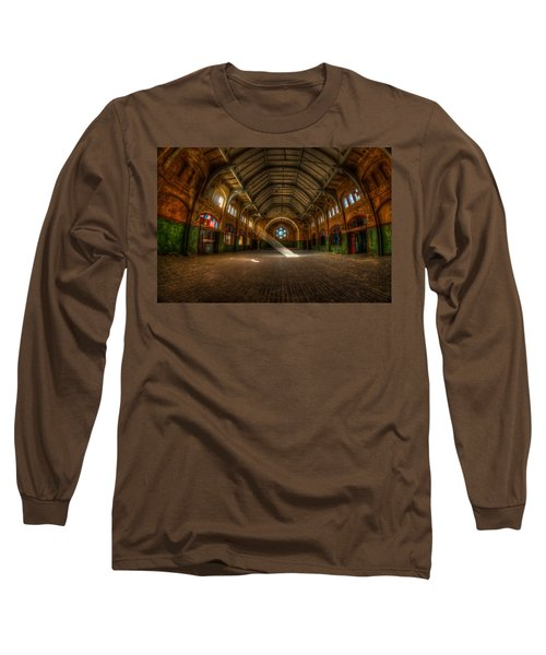 Hall Beam Long Sleeve T-Shirt by Nathan Wright
