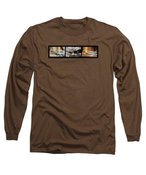 Hands Of Buddha Long Sleeve T-Shirt