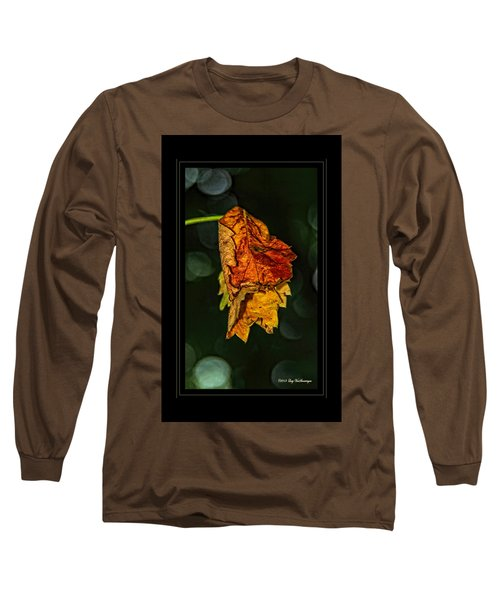 Hanging Gold Framed Long Sleeve T-Shirt