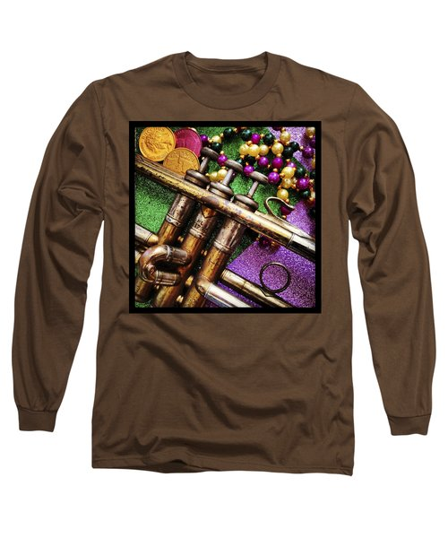 Happy Mardi Gras Long Sleeve T-Shirt