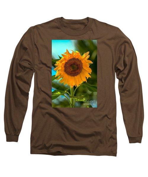 Happy Sunflower Long Sleeve T-Shirt