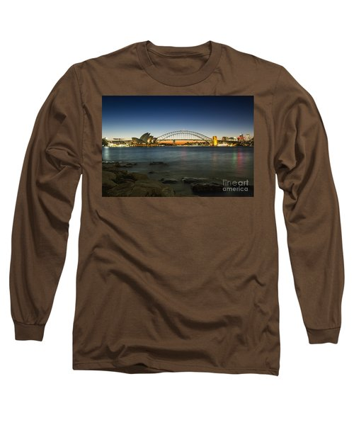 Harbour Night Long Sleeve T-Shirt