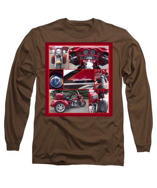 Harley Davidson Ultra Classic Trike Long Sleeve T-Shirt