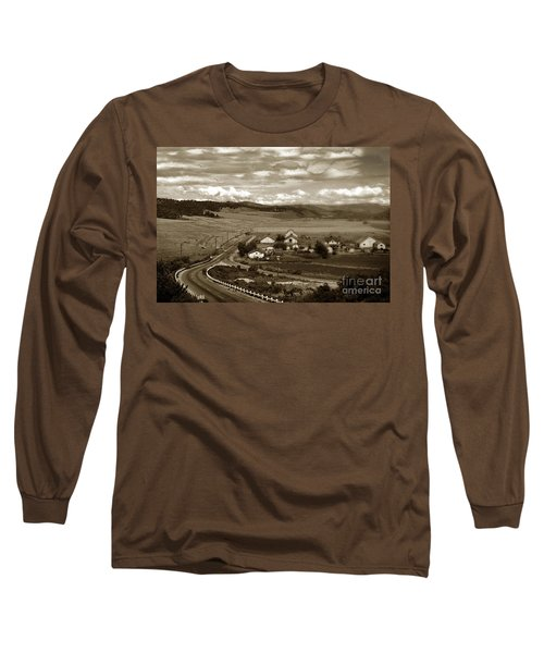 Hatton Ranch Carmel Valley From Highway One California  1940 Long Sleeve T-Shirt