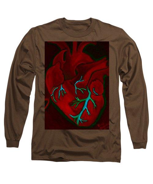 Have A Heart Light 2 Dark Version Long Sleeve T-Shirt
