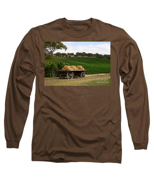 Hay Wagon Long Sleeve T-Shirt
