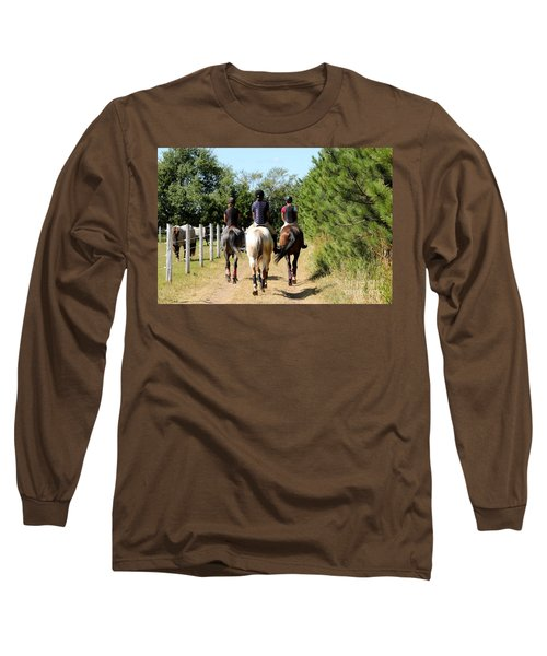 Heading To The Cross Country Course Long Sleeve T-Shirt