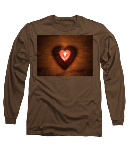 Long Sleeve T-Shirt featuring the photograph Heart Light by Aaron Aldrich
