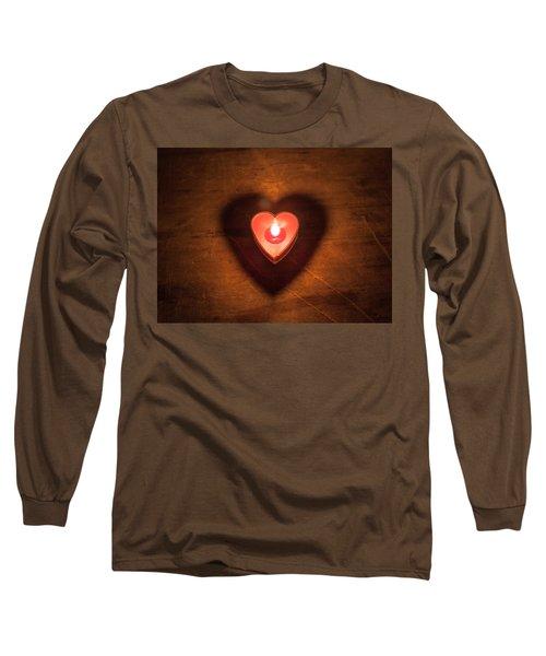 Heart Light Long Sleeve T-Shirt