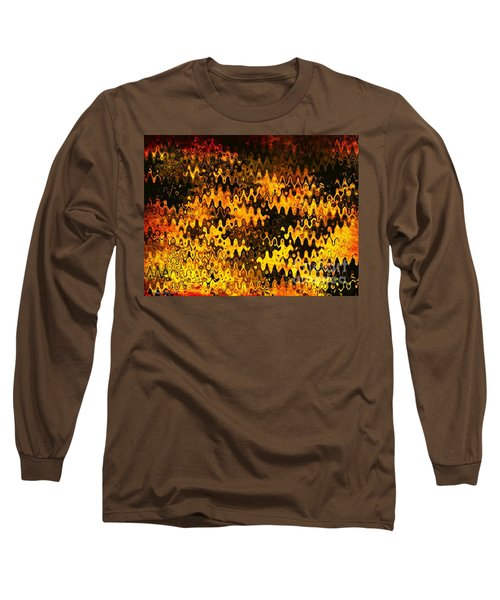 Long Sleeve T-Shirt featuring the photograph Heat by Anita Lewis