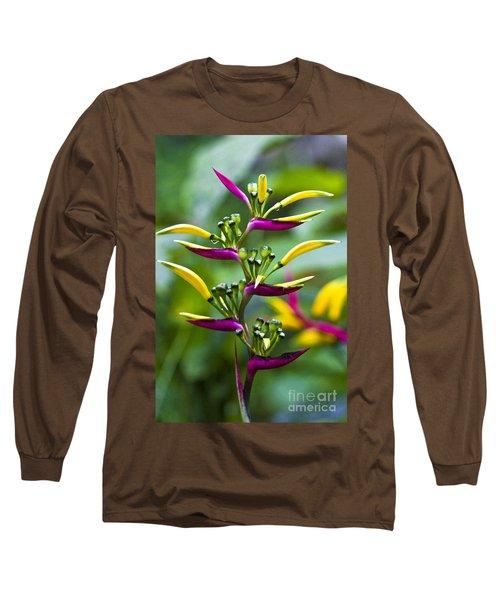 Heliconia Subulata II Long Sleeve T-Shirt