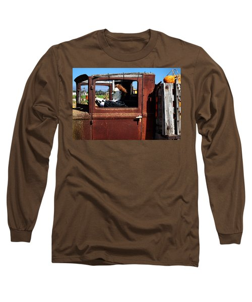 Long Sleeve T-Shirt featuring the photograph Hell Bent To Market by Michael Gordon