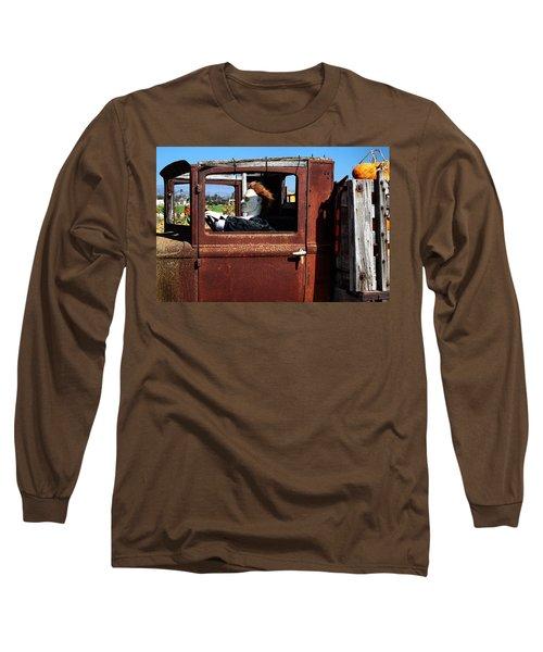 Hell Bent To Market Long Sleeve T-Shirt by Michael Gordon