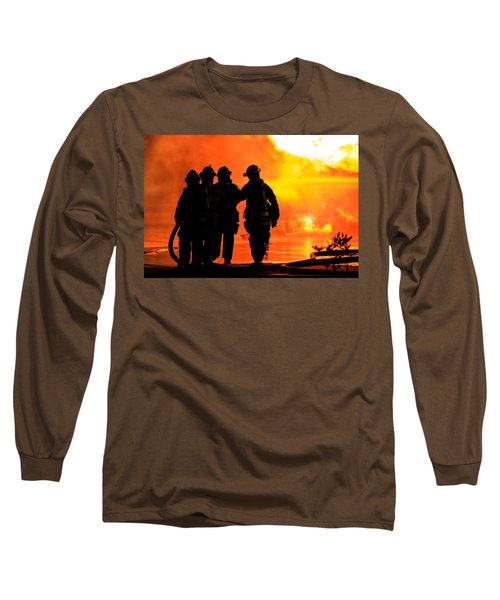 Hell Is For Hero's Long Sleeve T-Shirt