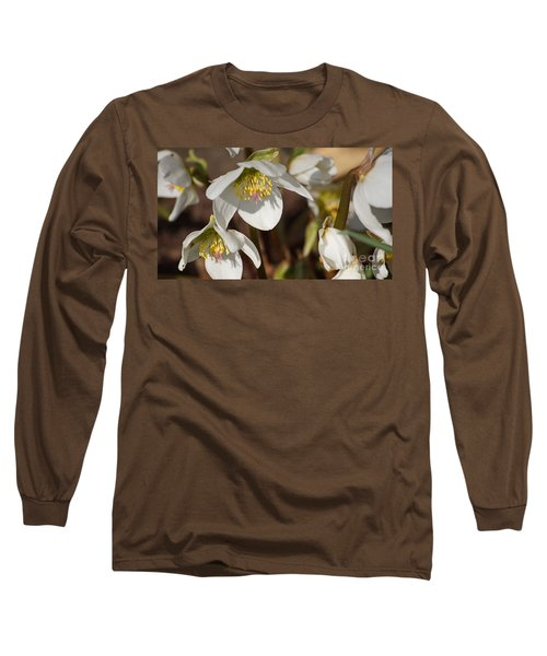 Helleborus Niger - Christrose Long Sleeve T-Shirt