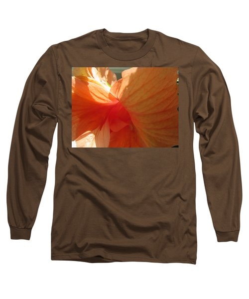Hibiscus Butterfly Long Sleeve T-Shirt