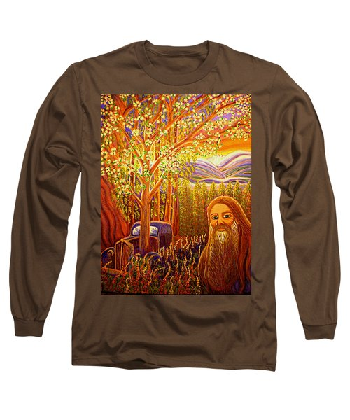 Hidden Mountain Man Long Sleeve T-Shirt