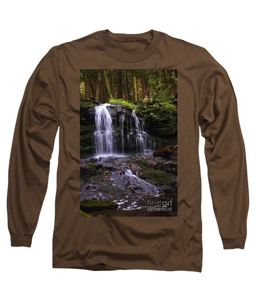 Hidden Waterfalls Of Wayne County I Long Sleeve T-Shirt