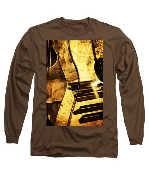 High On Music Long Sleeve T-Shirt by Randi Grace Nilsberg