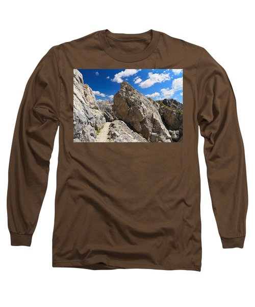 hike in Dolomites Long Sleeve T-Shirt