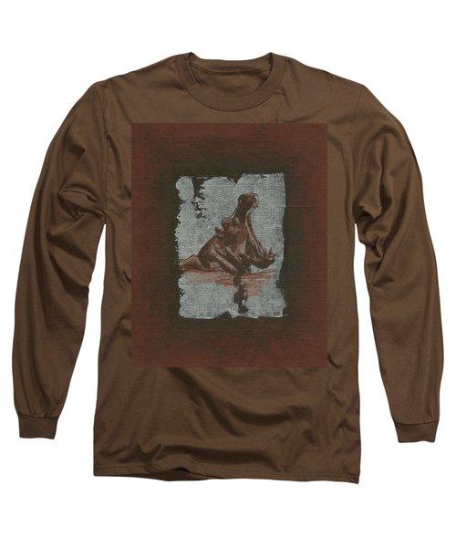 Hippo Long Sleeve T-Shirt