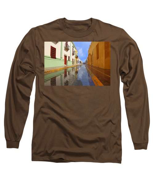 Historic Campeche Mexico  Long Sleeve T-Shirt