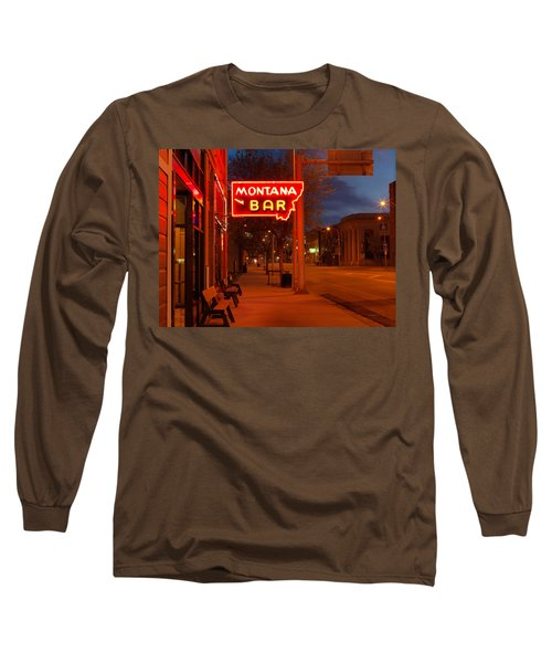 Historical Montana Bar Long Sleeve T-Shirt