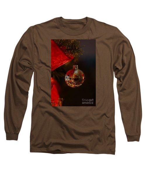 Holiday Season Long Sleeve T-Shirt by Linda Shafer