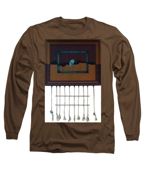 Long Sleeve T-Shirt featuring the painting Hollow by Fei A