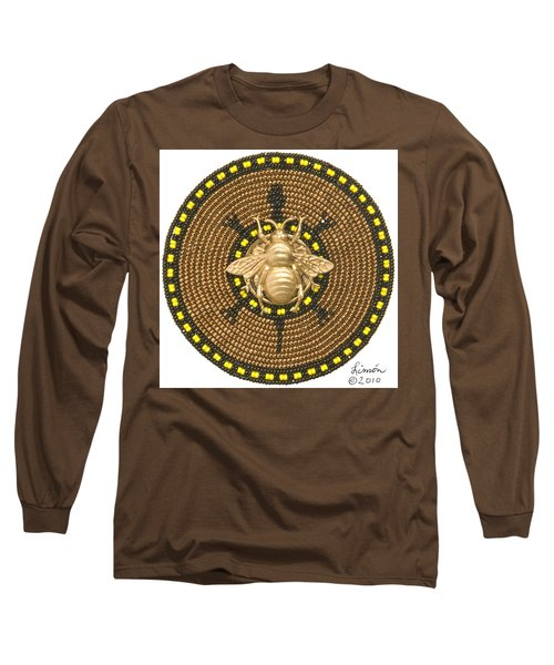 Honey Bee Turtle Long Sleeve T-Shirt